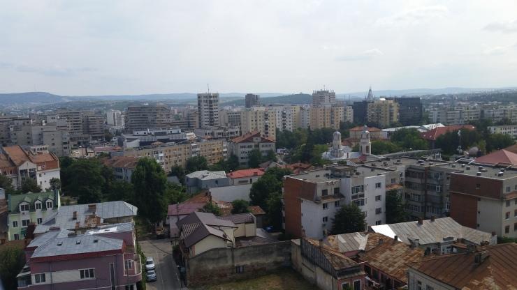 iasi romania skyline