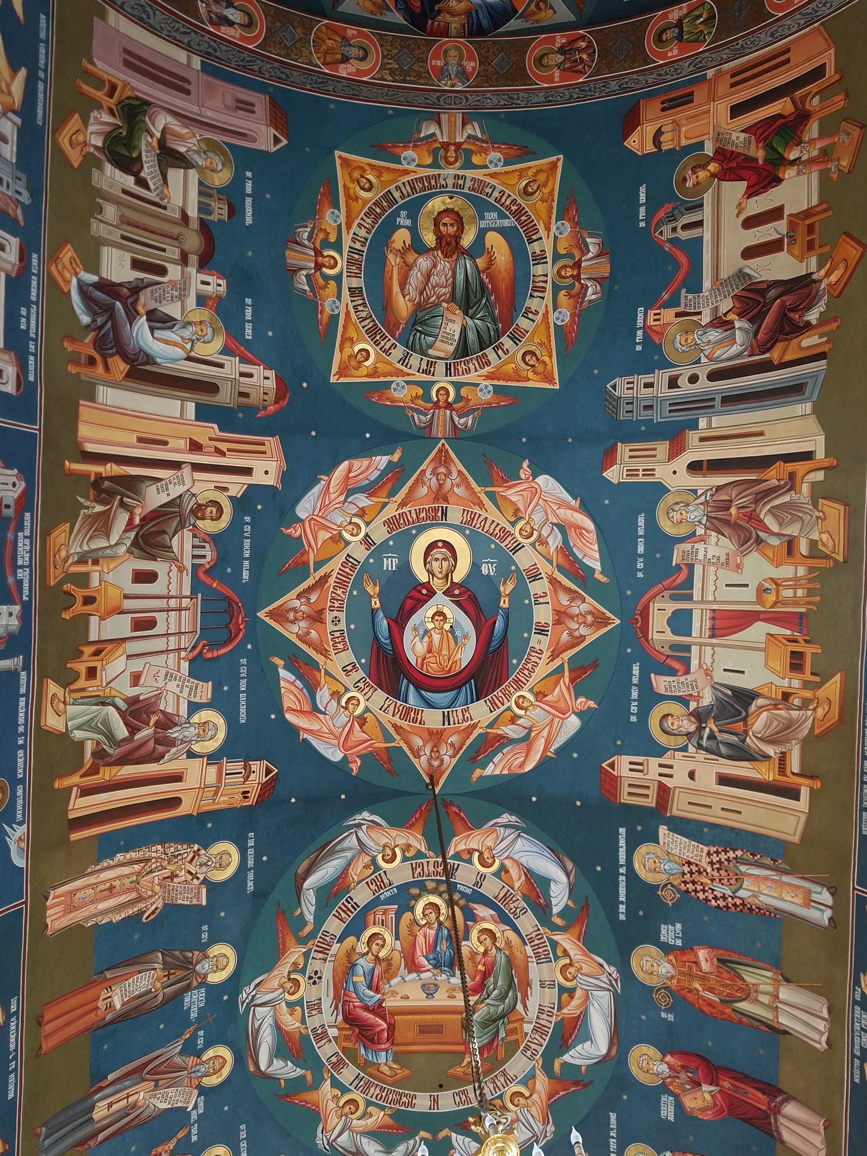 sfantul nectarie church iasi romania