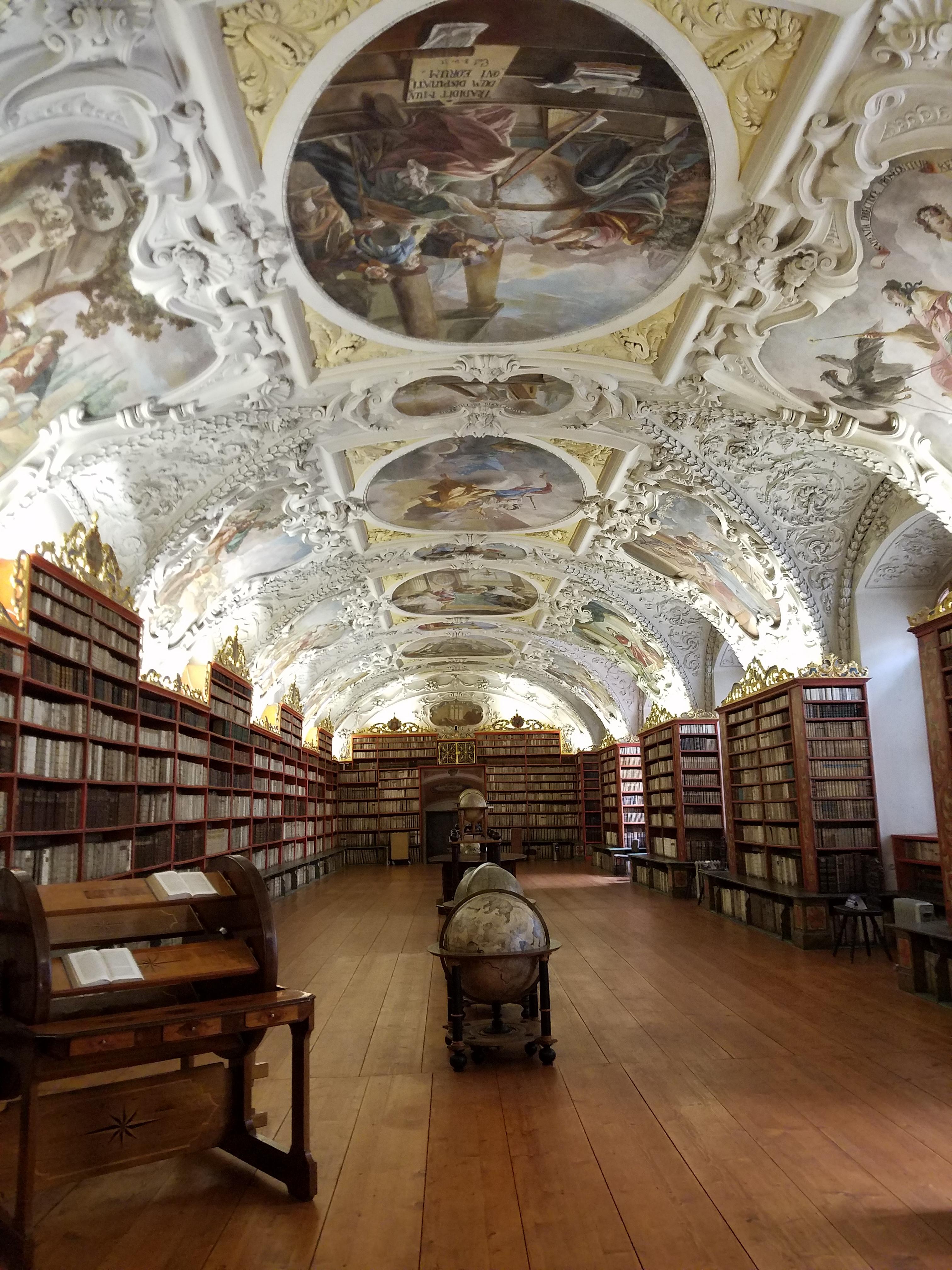 strahov monastery library prague
