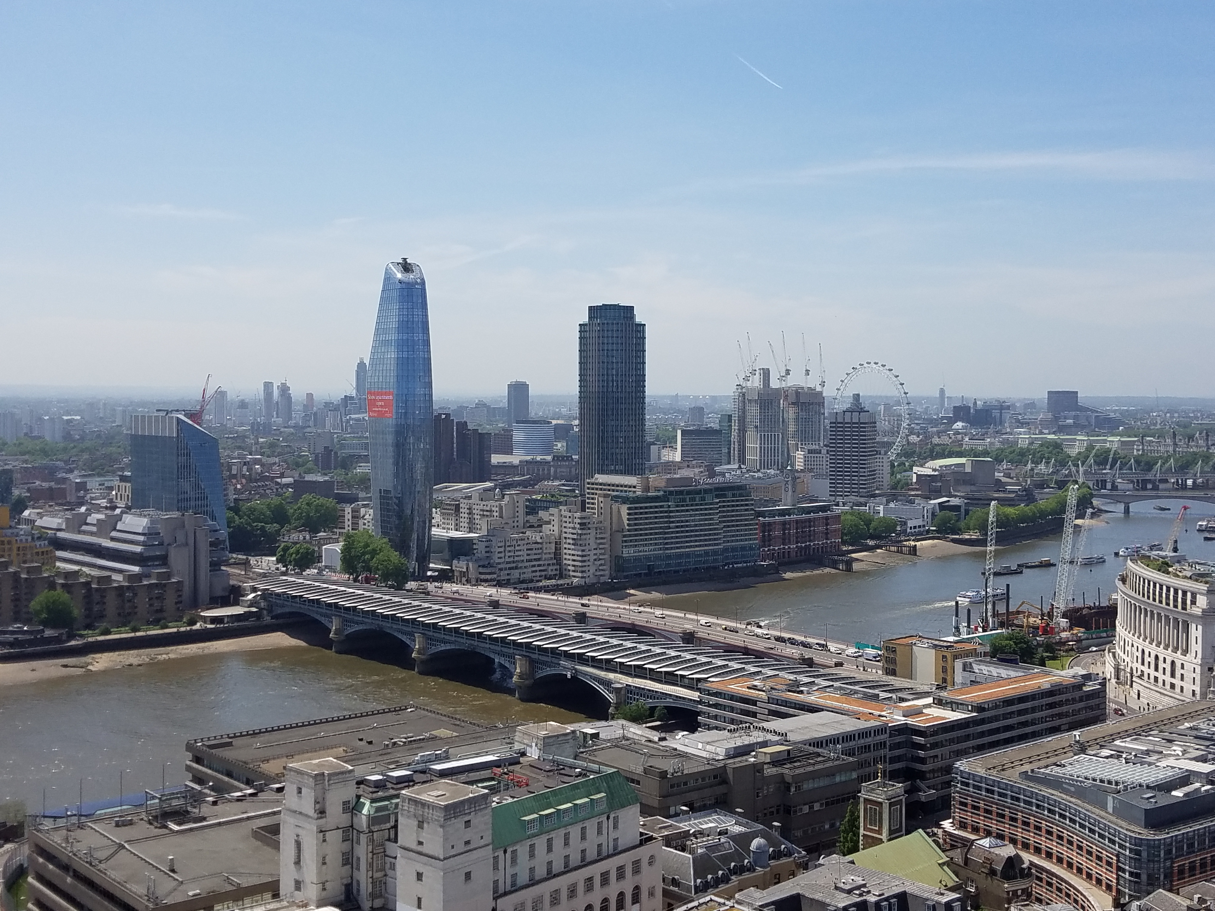 view from st pauls cathedral