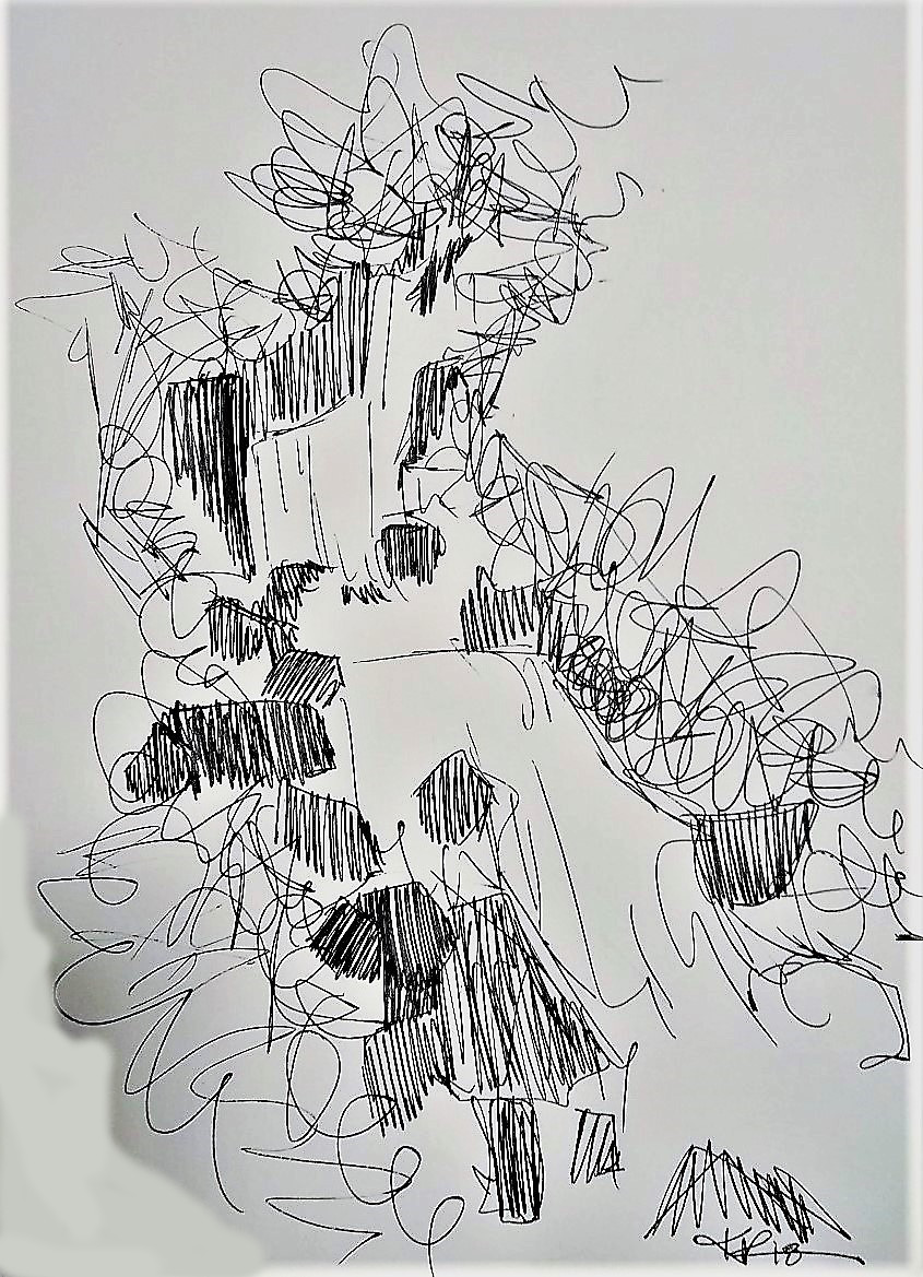 torc waterfall sketch kiana poole