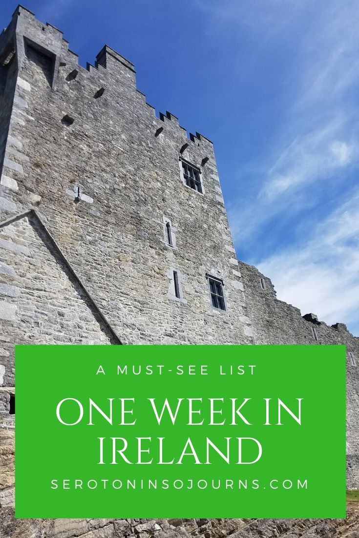 one week in ireland a must see list
