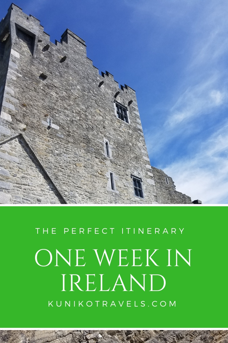 one week in ireland