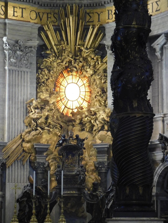 bernini altar st peters basilica