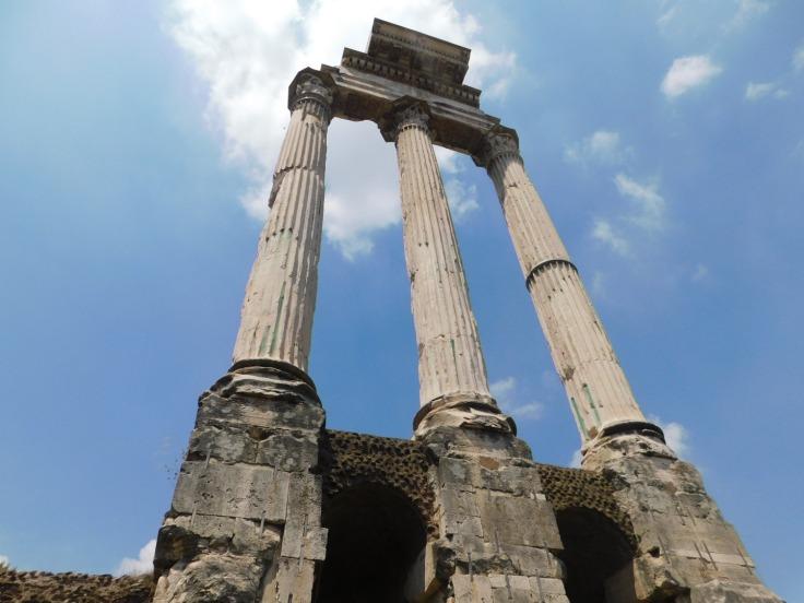 saturns temple roman forum