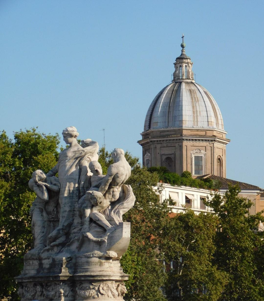 tiber-and-basilica rome
