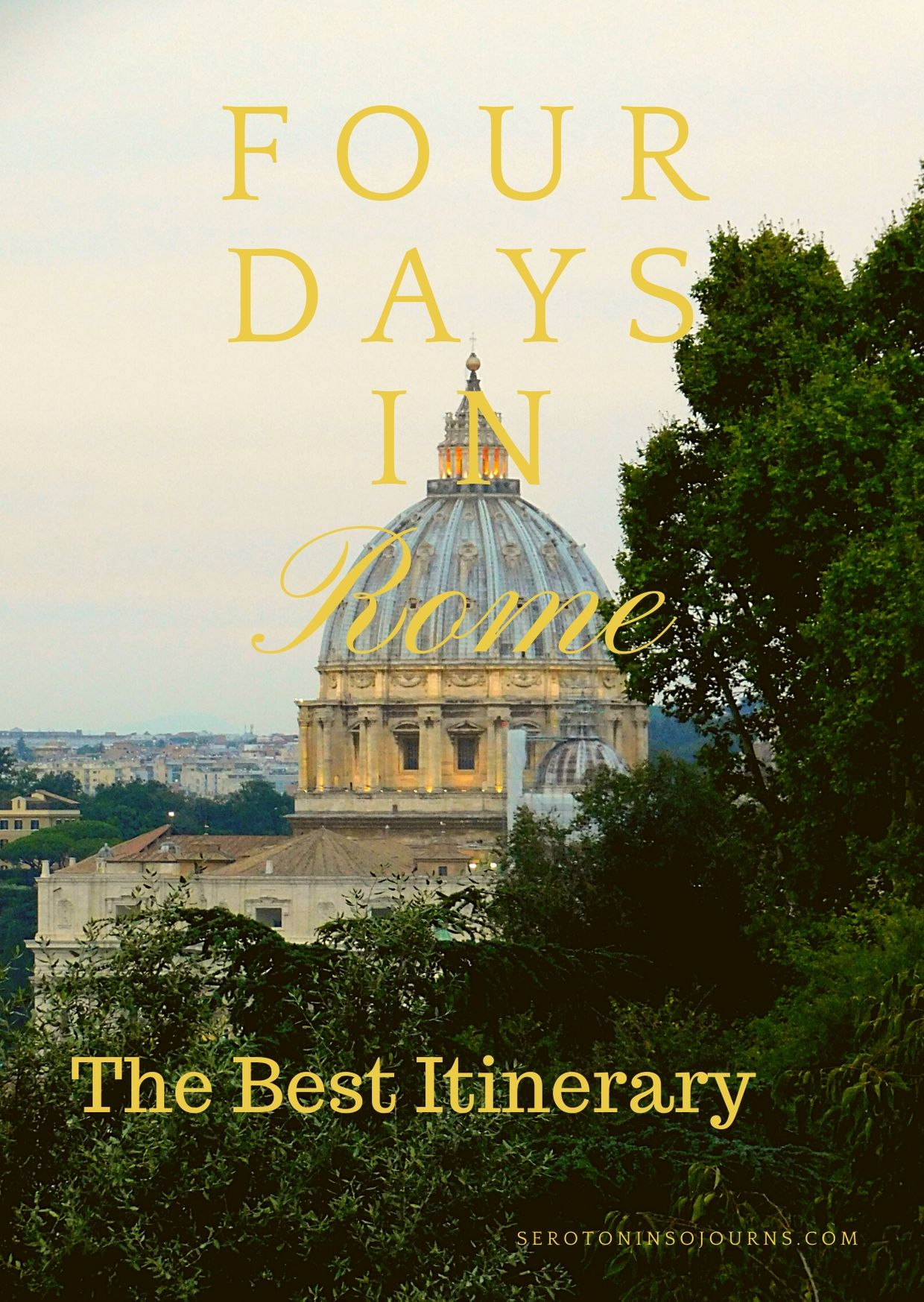 best 4-day itinerary for rome