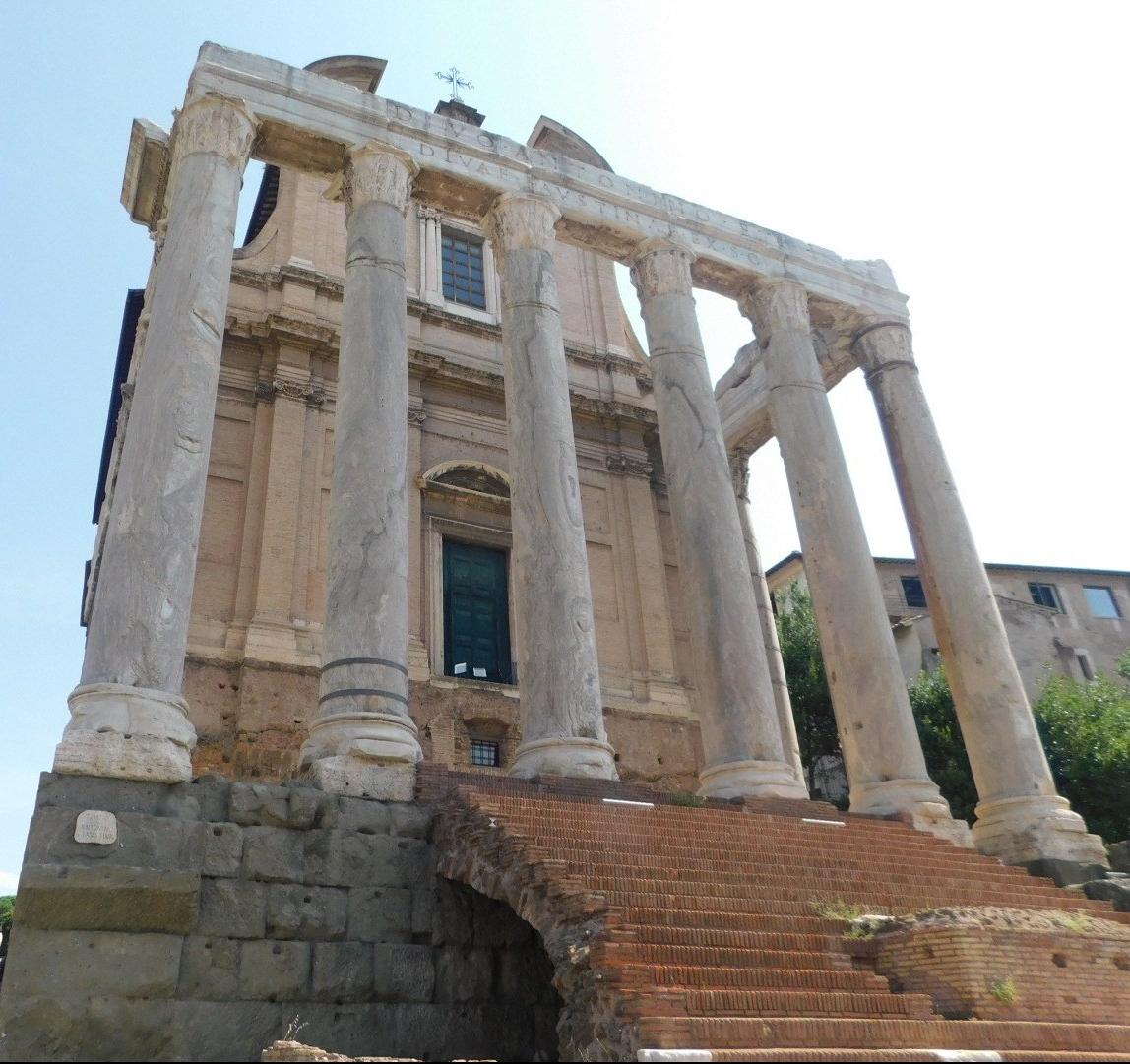 templo di antonio e faustina